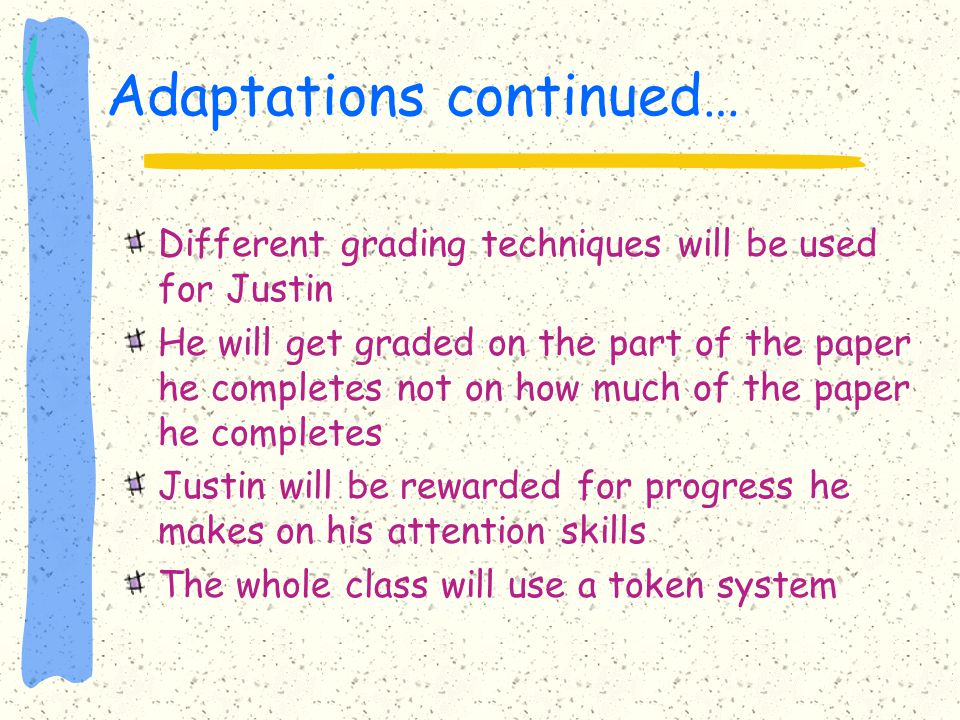 Adaptations continued…