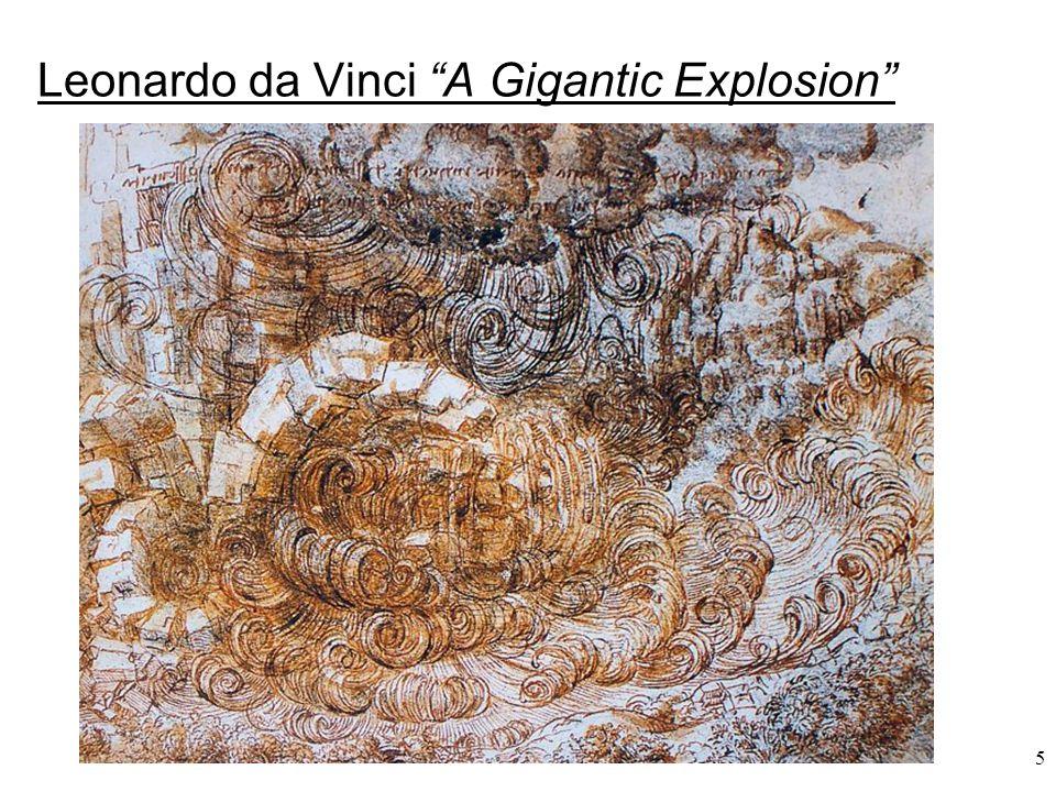 Leonardo da Vinci A Gigantic Explosion