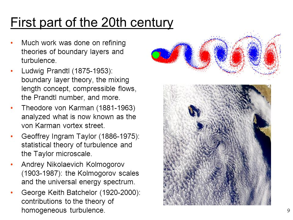 First part of the 20th century