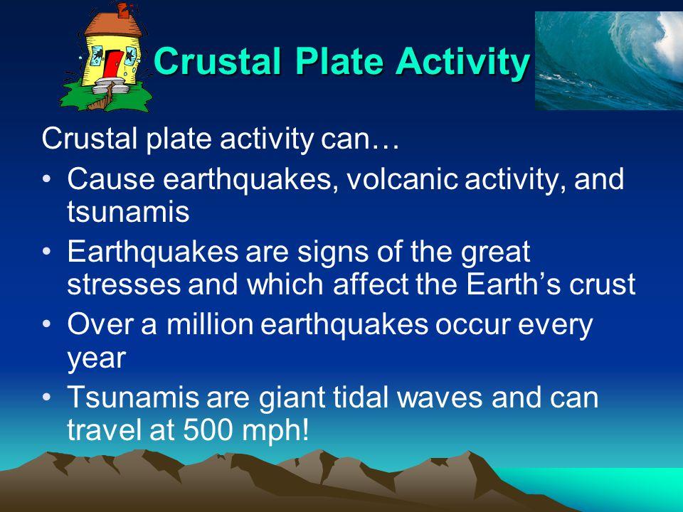 Crustal Plate Activity