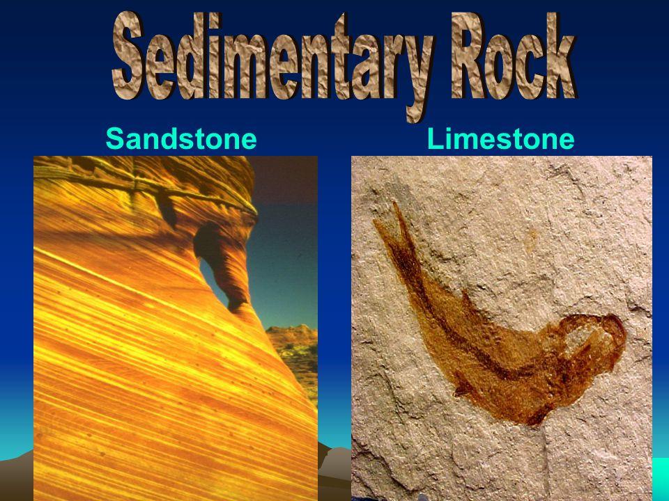 Sedimentary Rock Sandstone Limestone