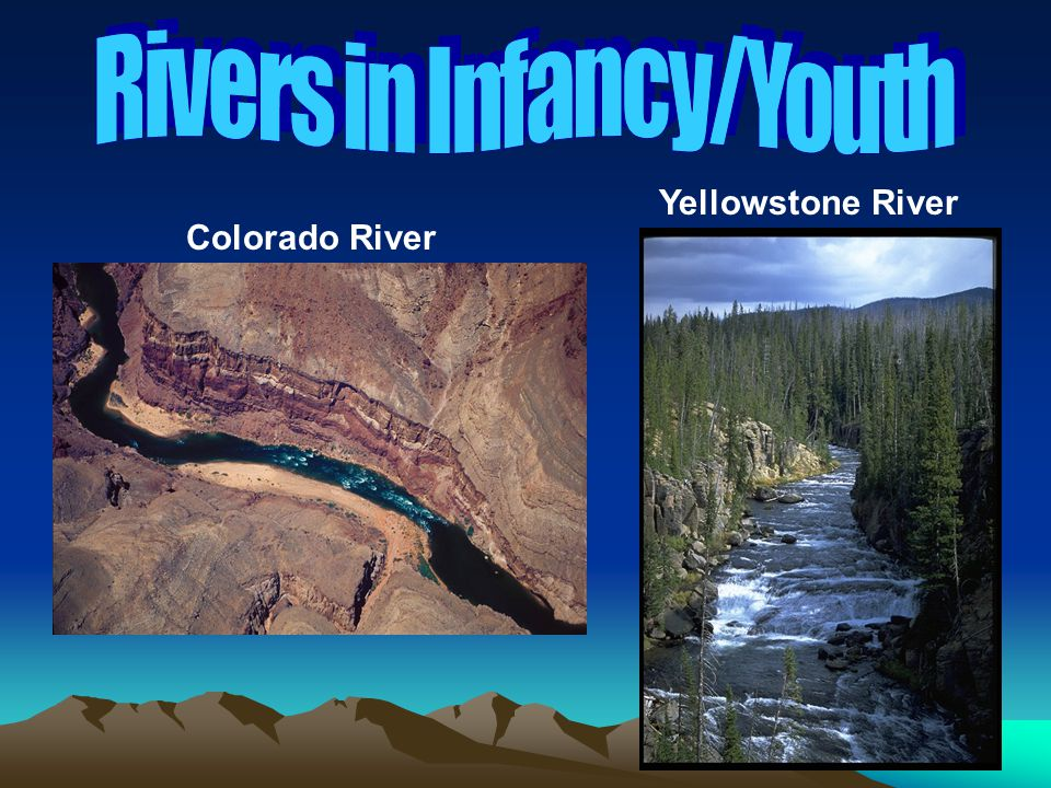 Rivers in Infancy/Youth