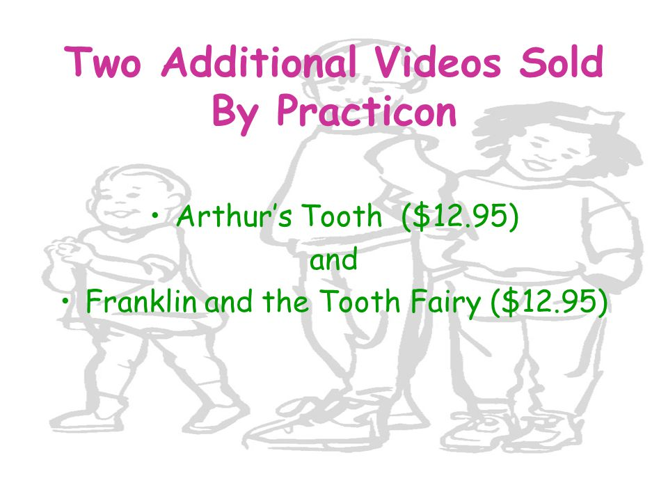 Two Additional Videos Sold By Practicon