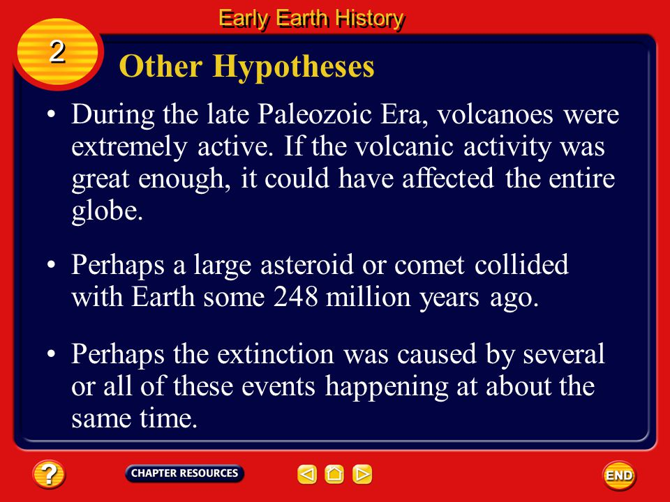 Early Earth History 2. Other Hypotheses.