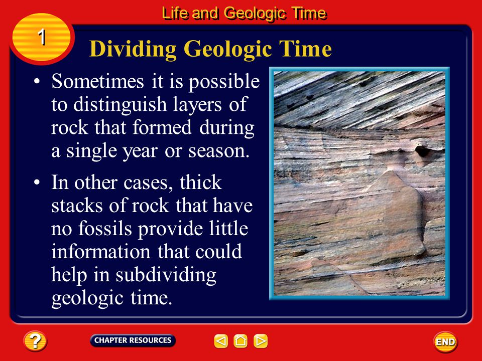 Dividing Geologic Time