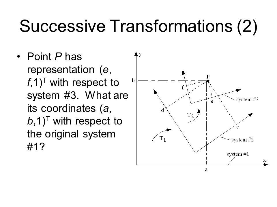 Successive Transformations (2)