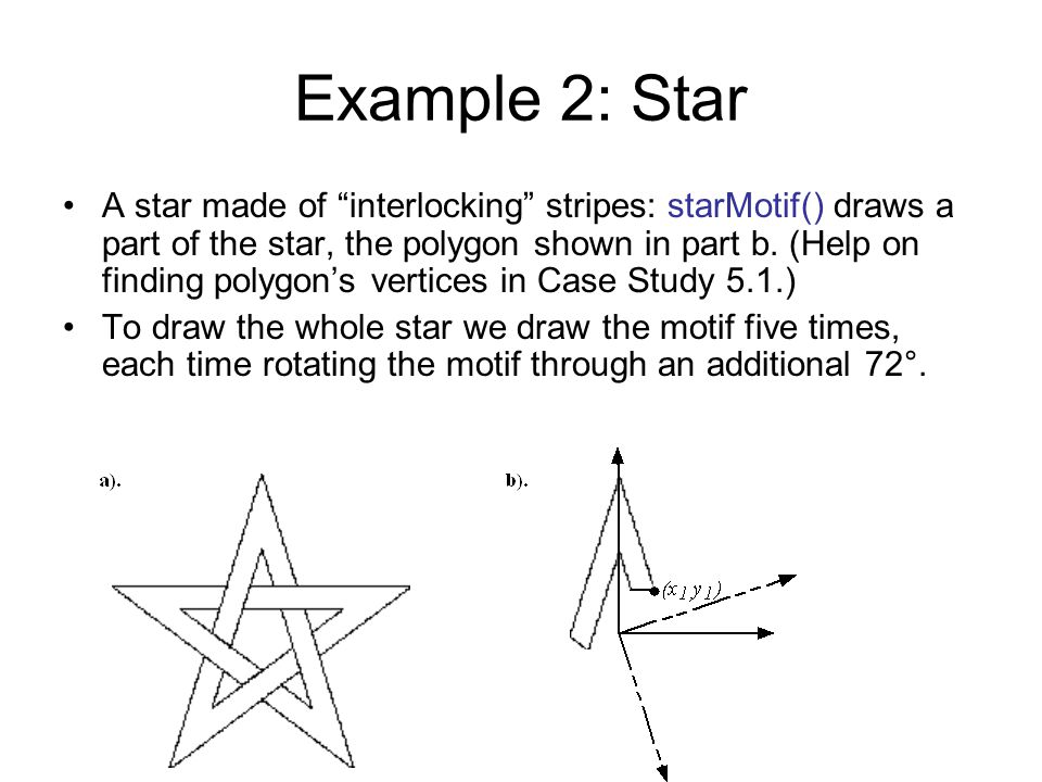 Example 2: Star