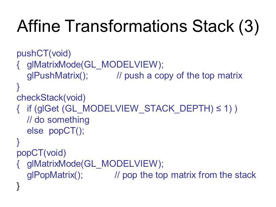 Affine Transformations Stack (3)