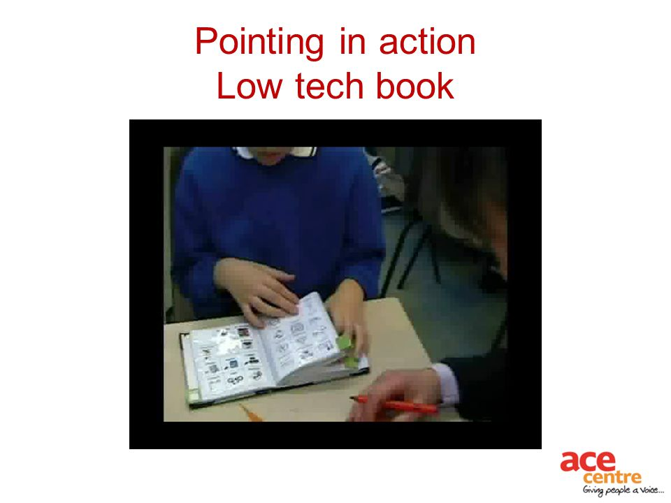 Pointing in action Low tech book