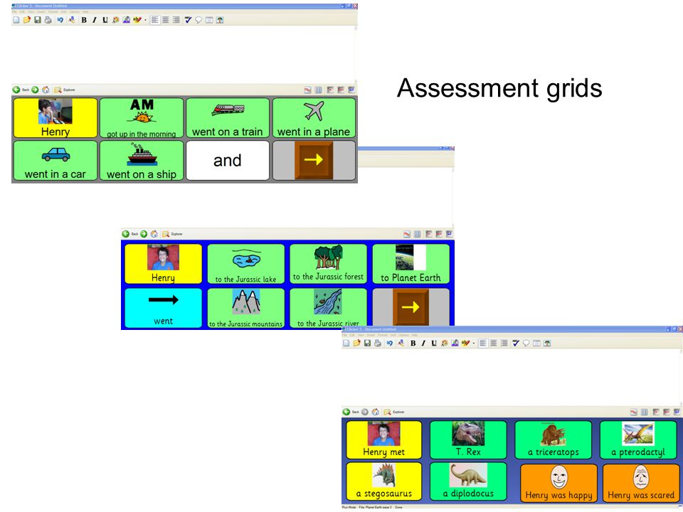 Assessment grids