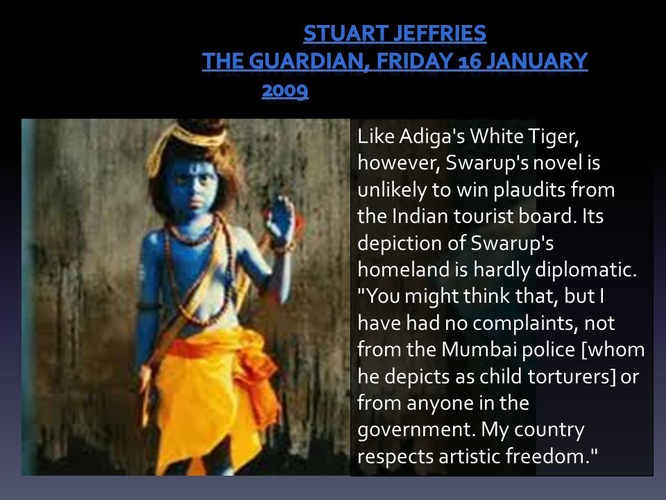 Stuart Jeffries The Guardian, Friday 16 January 2009