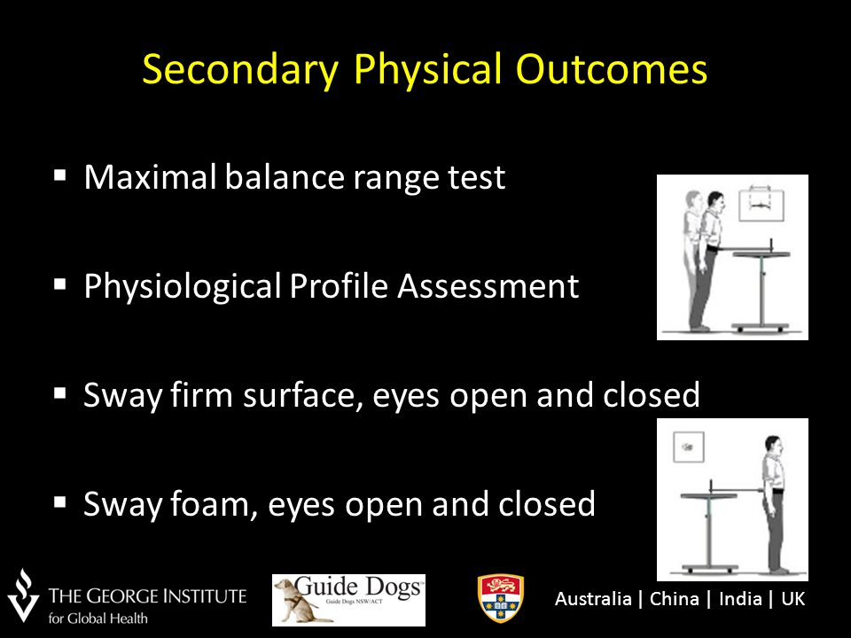Secondary Physical Outcomes