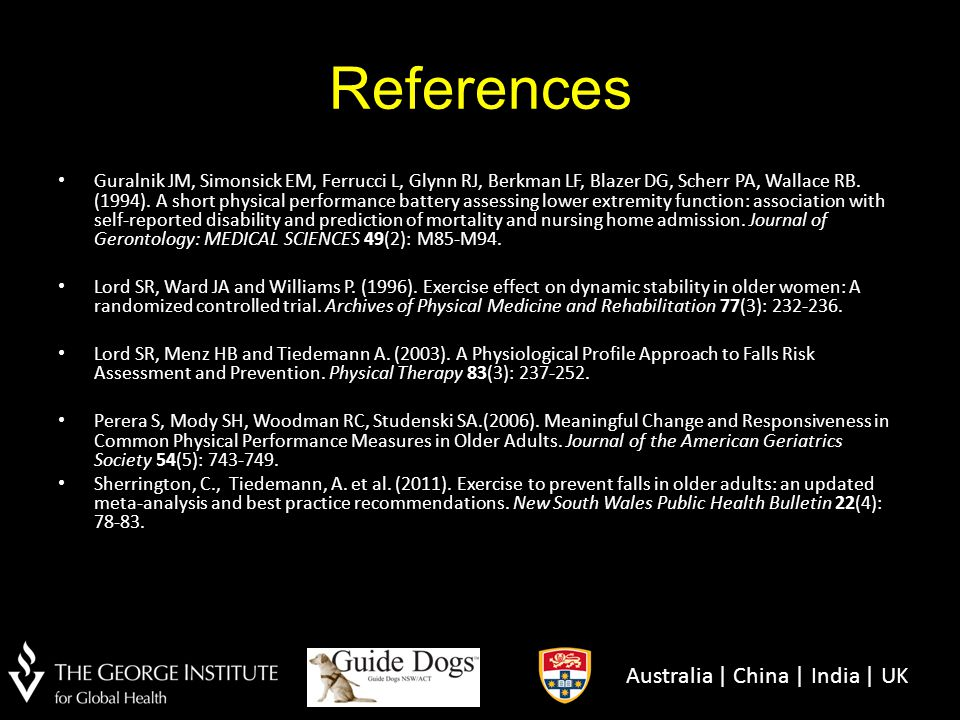 References Australia | China | India | UK