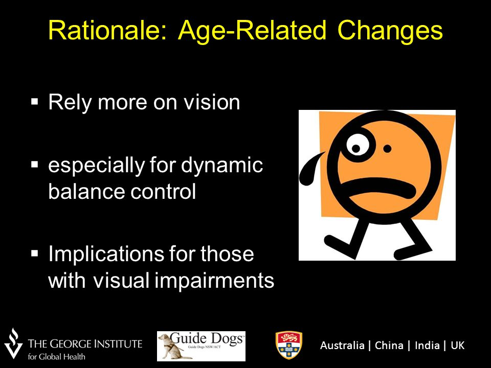 Rationale: Age-Related Changes