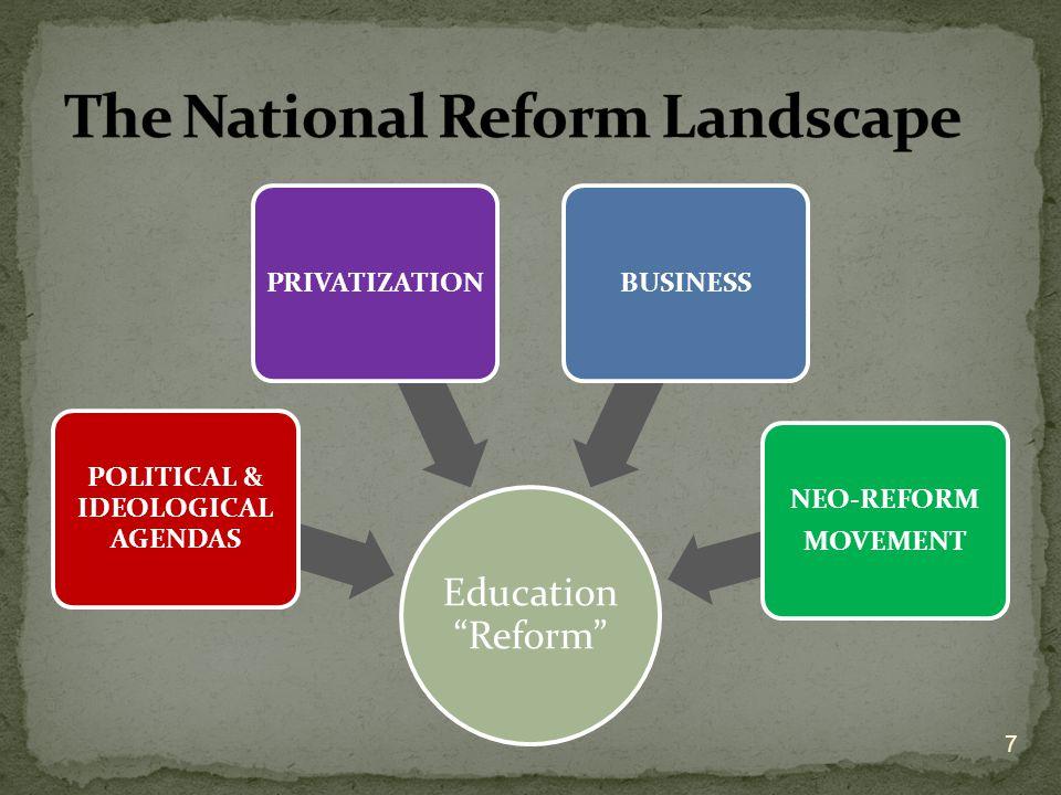The National Reform Landscape