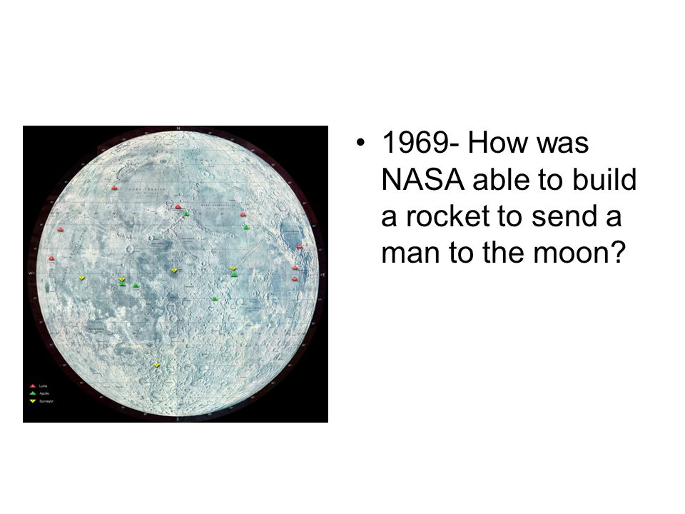 1969- How was NASA able to build a rocket to send a man to the moon