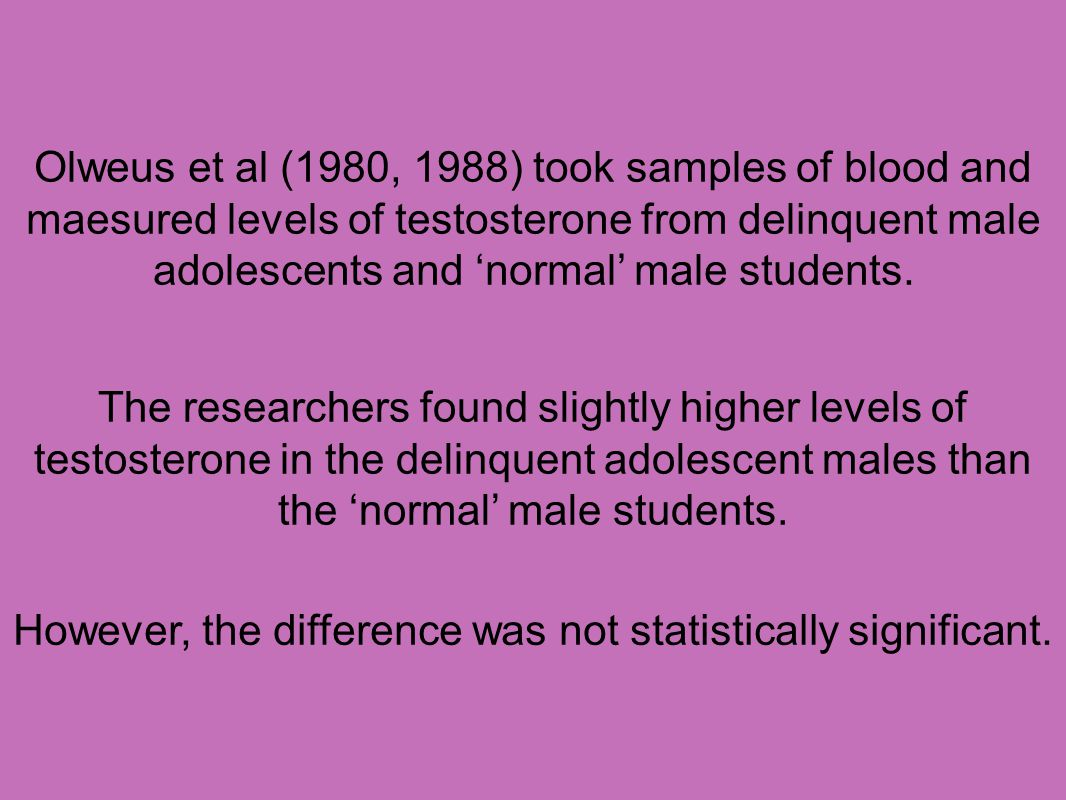 However, the difference was not statistically significant.