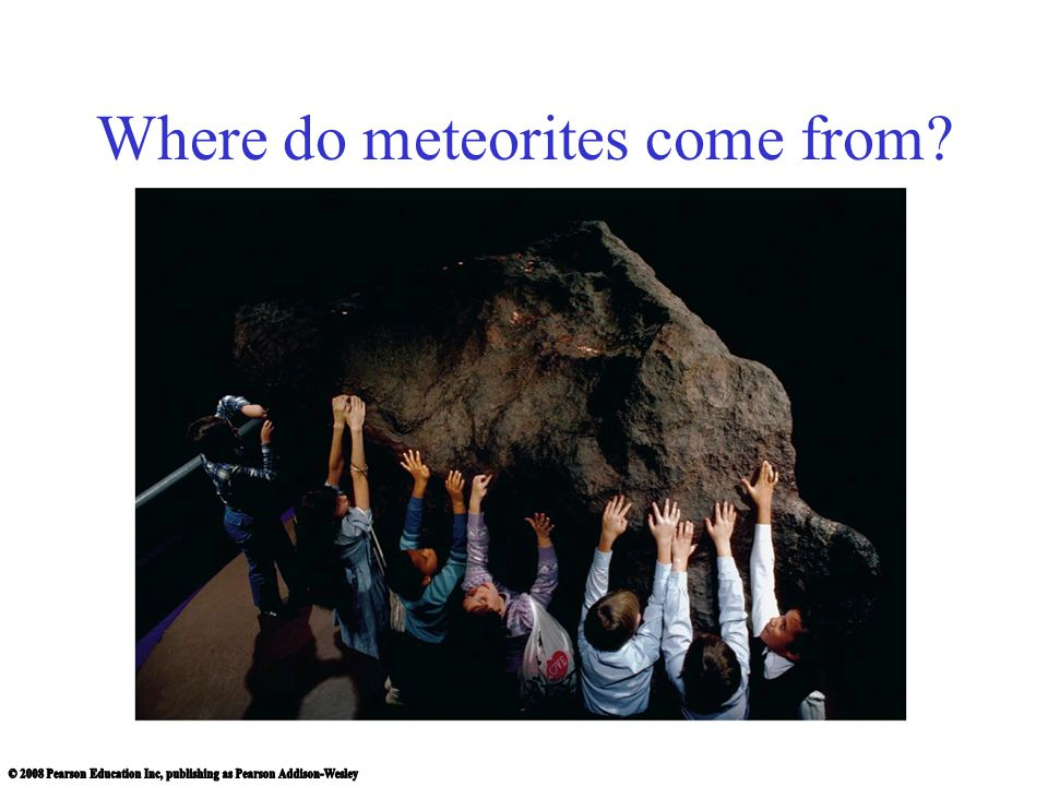 Where do meteorites come from