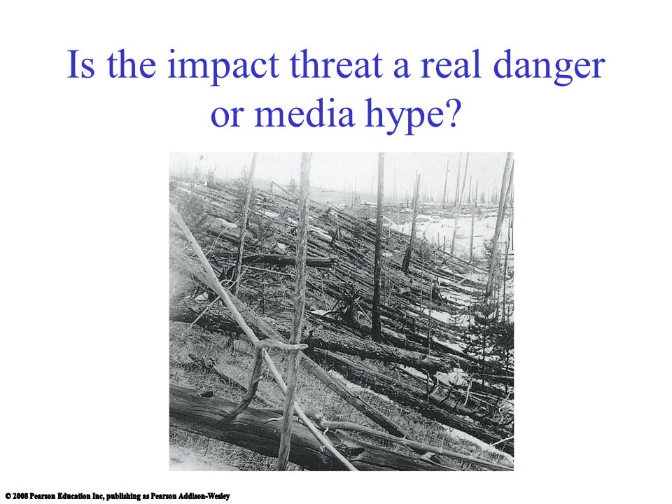 Is the impact threat a real danger or media hype