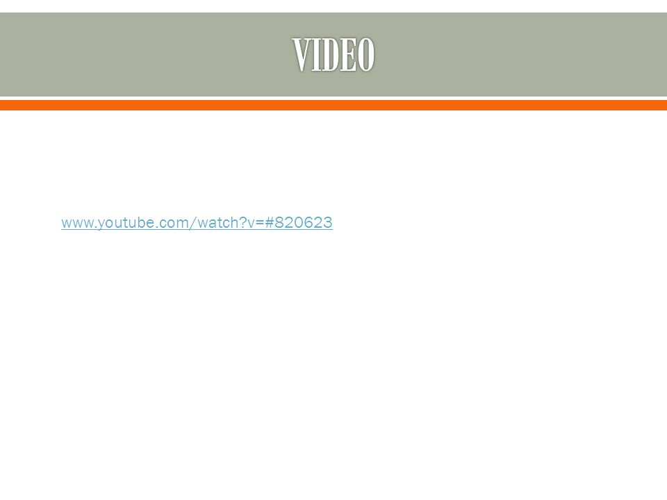 VIDEO www.youtube.com/watch v=#820623