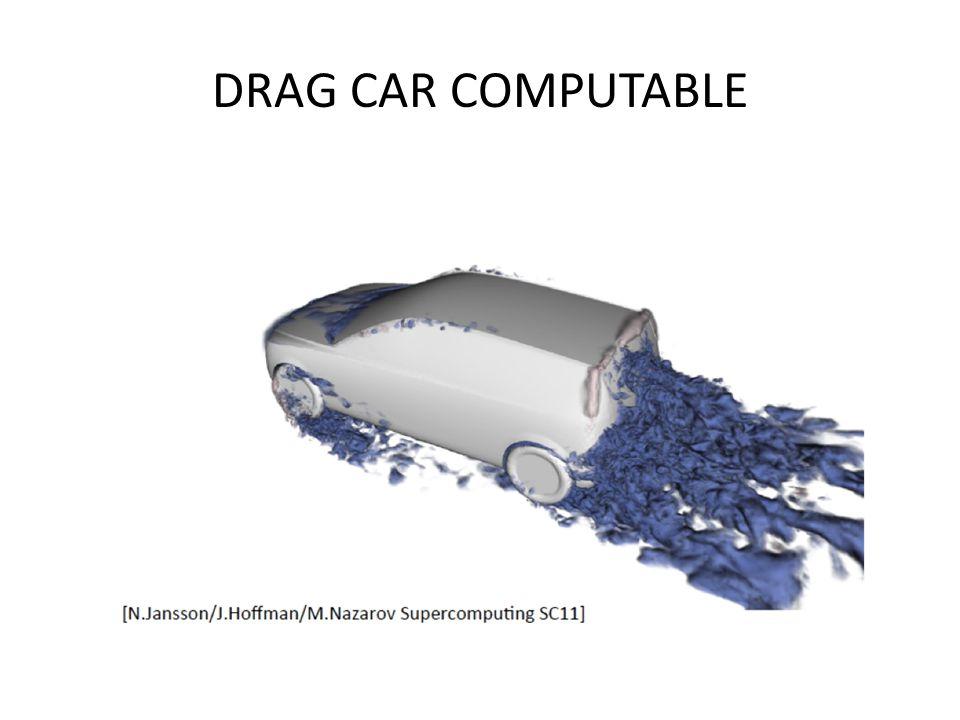 DRAG CAR COMPUTABLE