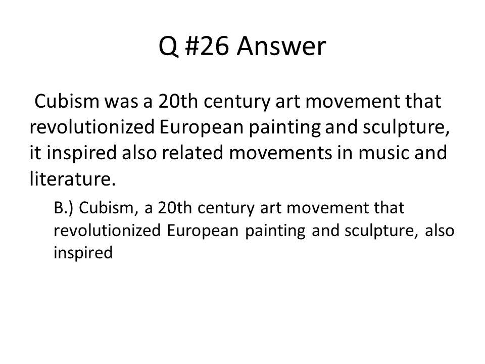 Q #26 Answer