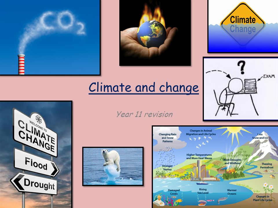 Climate and change Year 11 revision