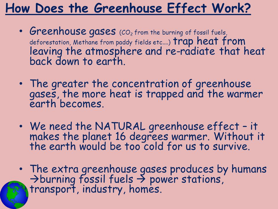 How Does the Greenhouse Effect Work