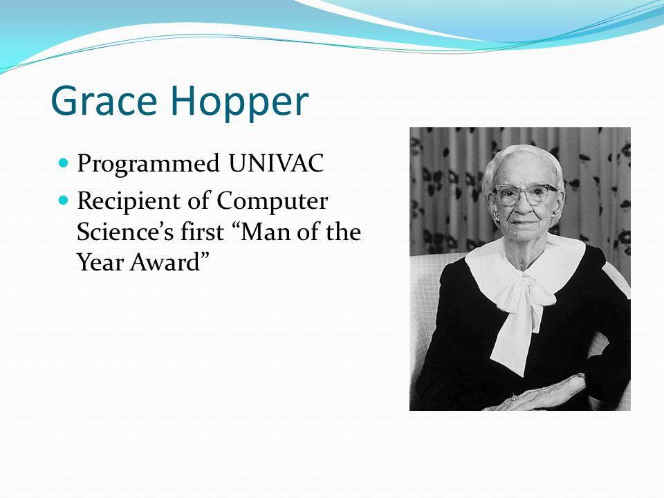 Grace Hopper Programmed UNIVAC