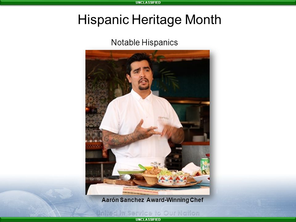 Aarón Sanchez Award-Winning Chef