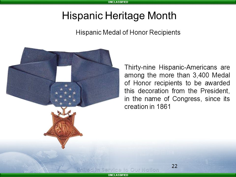 Hispanic Medal of Honor Recipients