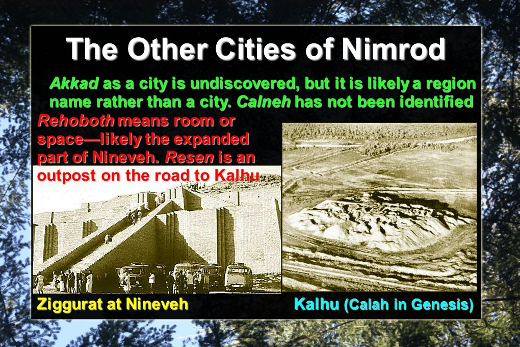 The Other Cities of Nimrod