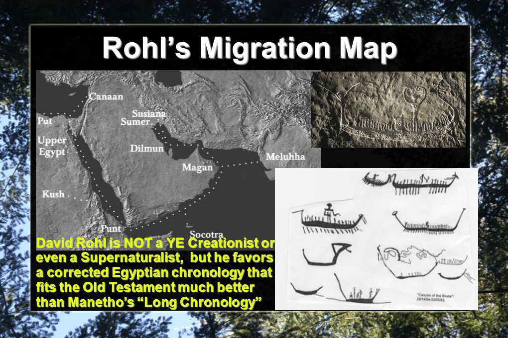 Rohl's Migration Map