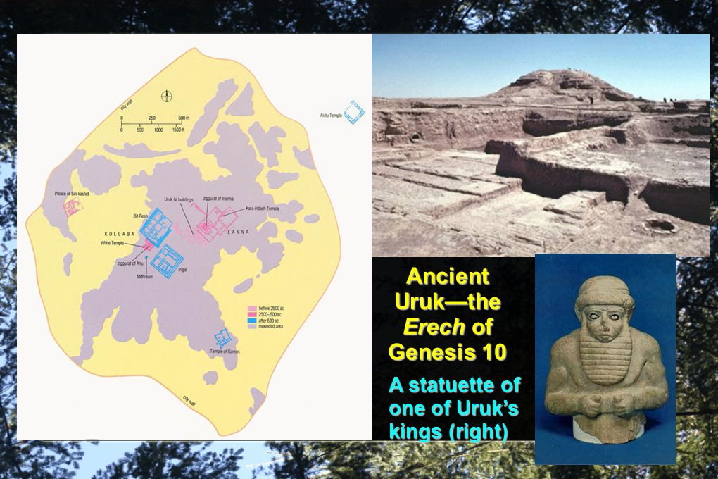 Ancient Uruk—the Erech of Genesis 10