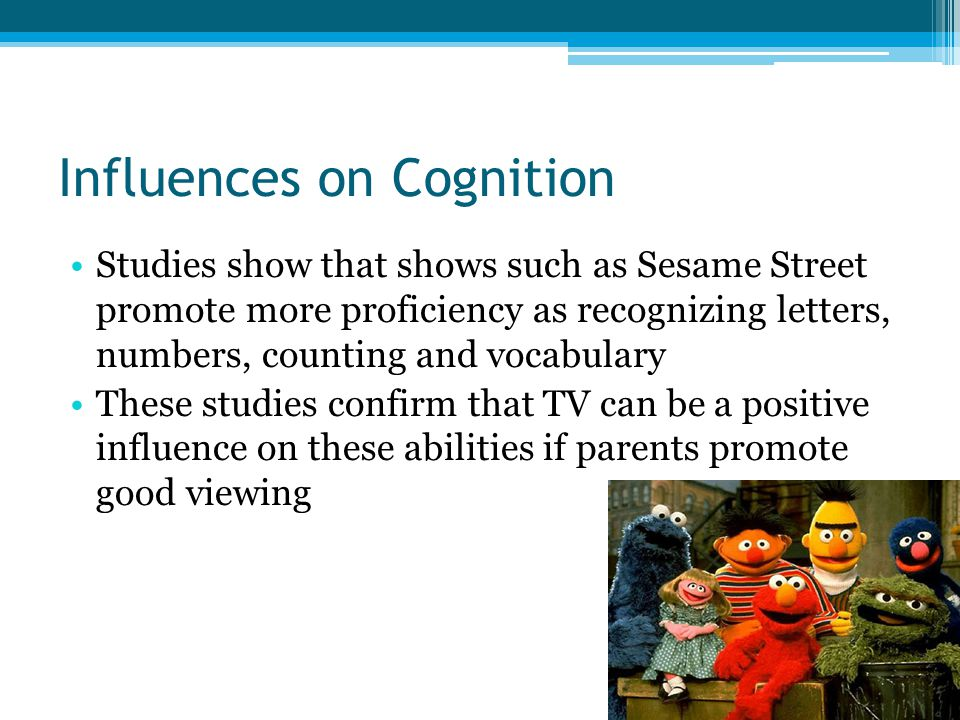 Influences on Cognition