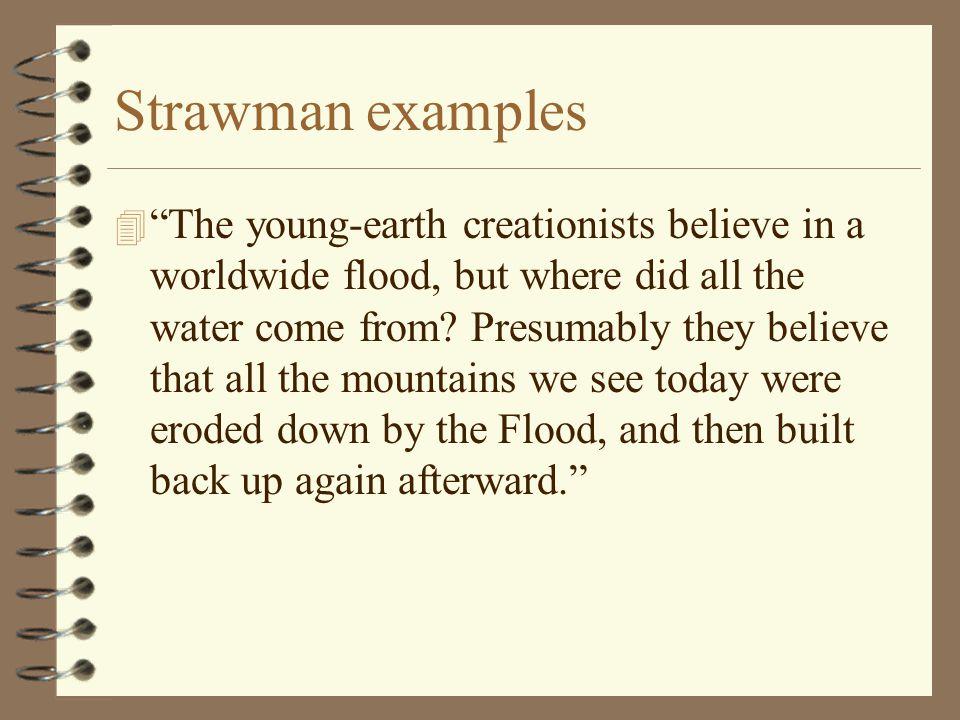 Strawman examples