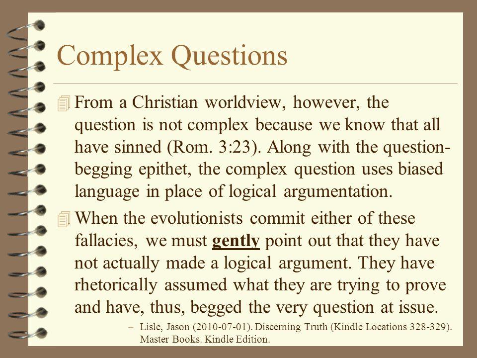 Complex Questions