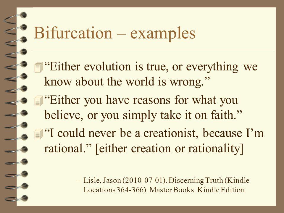 Bifurcation – examples