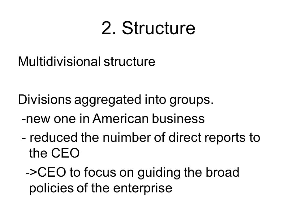 2. Structure