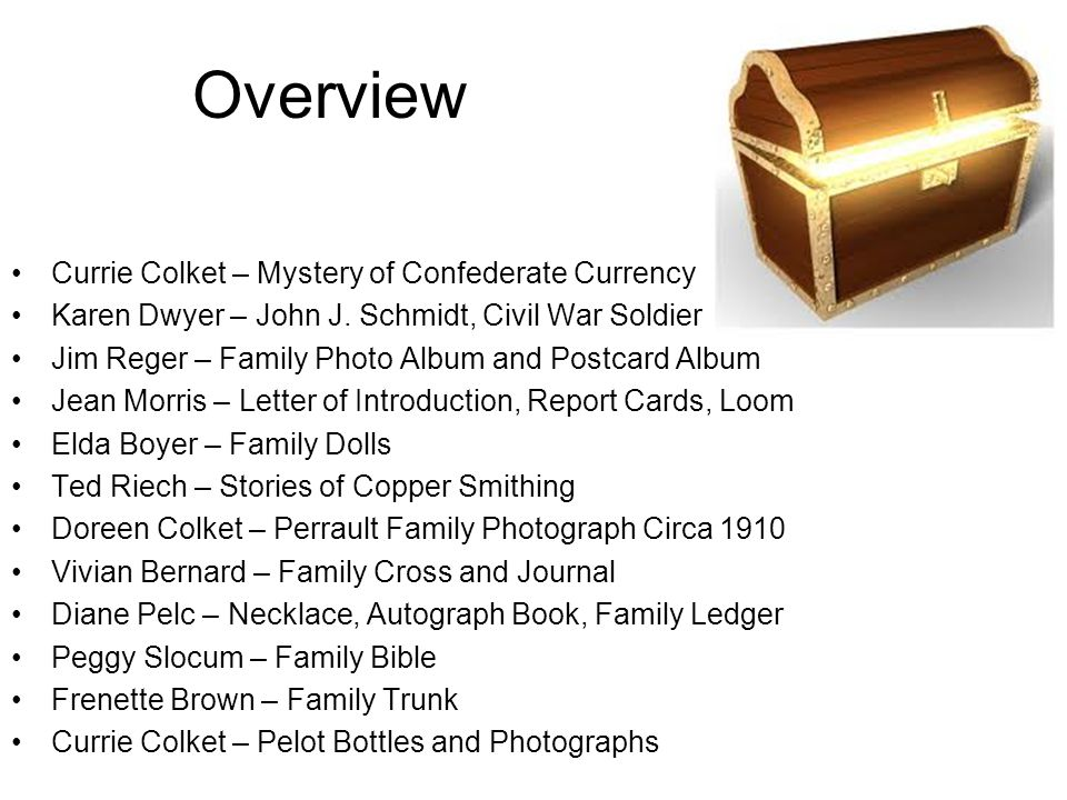 Overview Currie Colket – Mystery of Confederate Currency