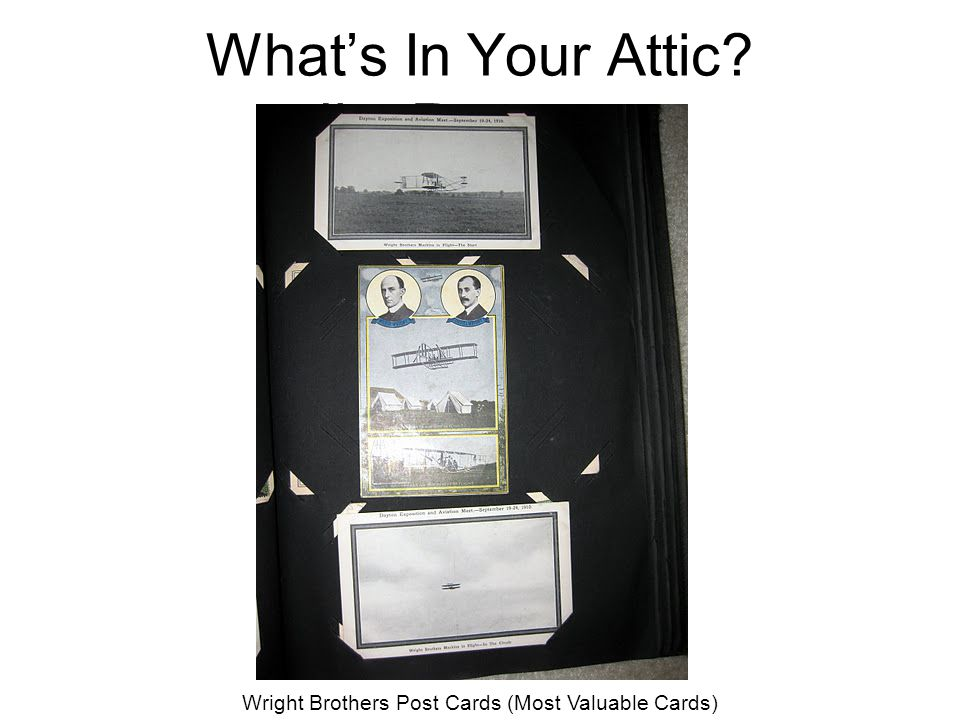 What's In Your Attic Jim Reger - 5