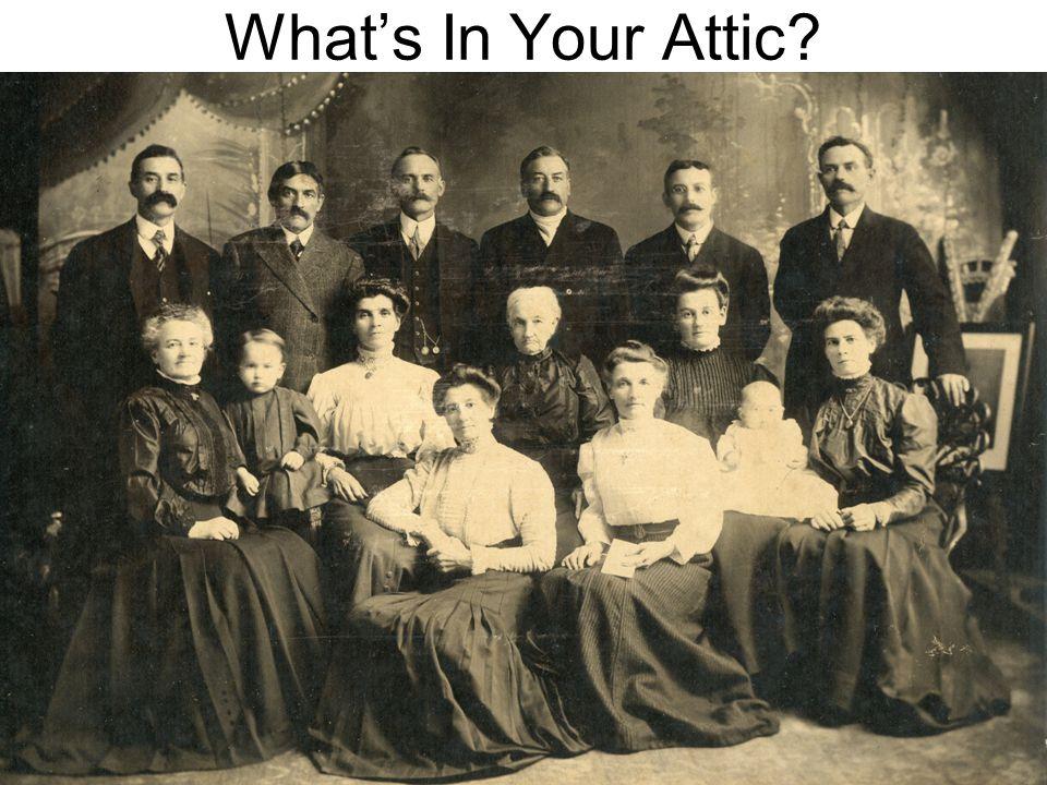 What's In Your Attic Doreen Colket - 1