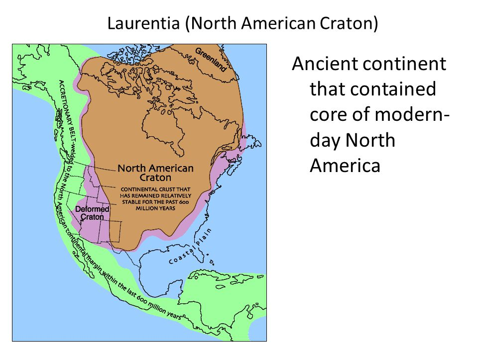 Laurentia (North American Craton)