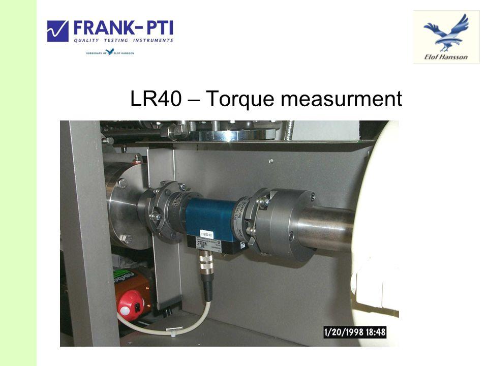 LR40 – Torque measurment