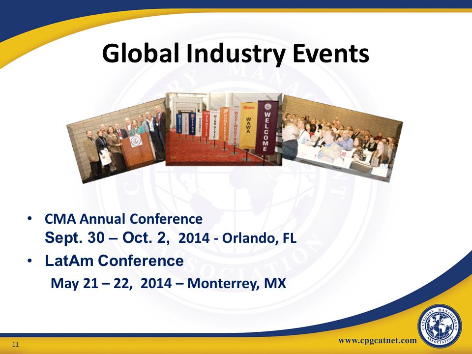 Global Industry Events