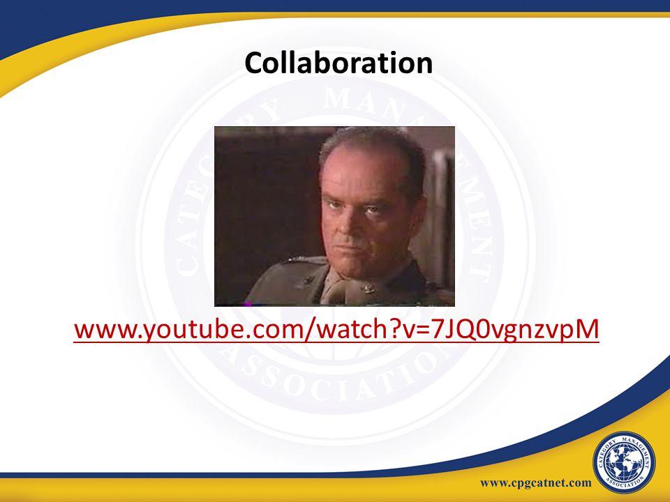 Collaboration E www.youtube.com/watch v=7JQ0vgnzvpM