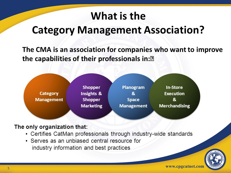 What is the Category Management Association