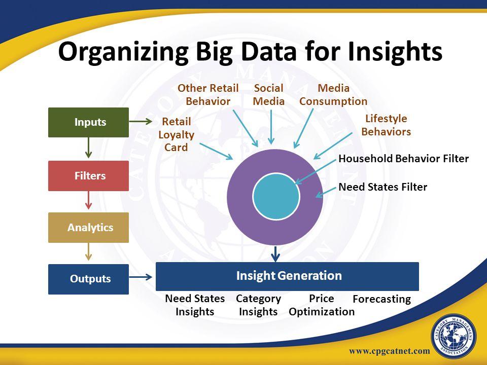 Organizing Big Data for Insights