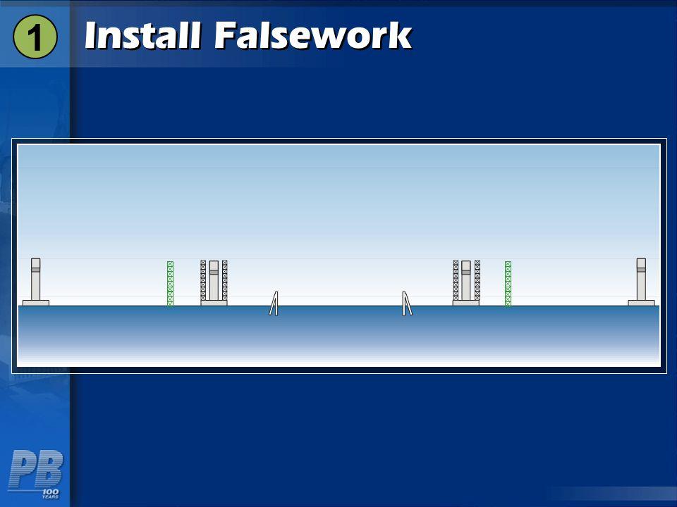 1 Install Falsework
