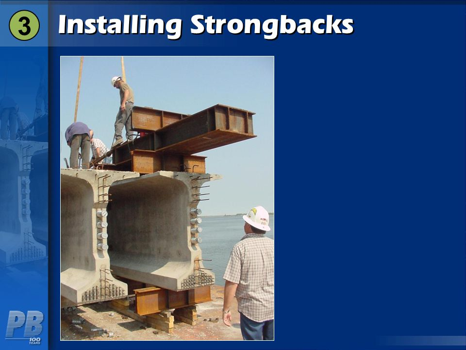 Installing Strongbacks